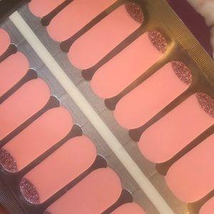Makeup - 4 for $15 nail stickers - pink nail moon